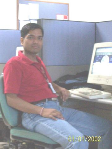 me in infosys during training